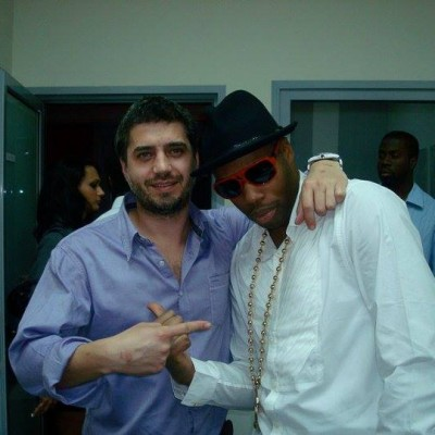Backstage with Kardinal Offishal for Bamboo Bucharest
