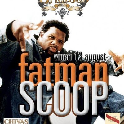 Fatman Scoop for Bamboo Bucharest