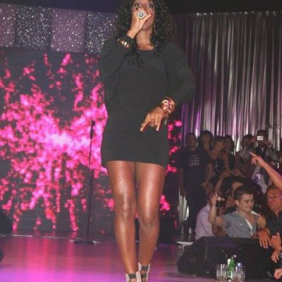 Kelly Rowland live for Bamboo Mamaia - stage