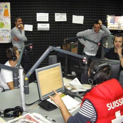 WIth DJ Splyce at Radio ZU