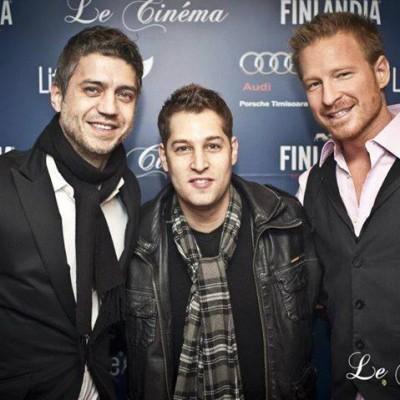 With DJ Splyce & Tony Evans for Le Cinema Club